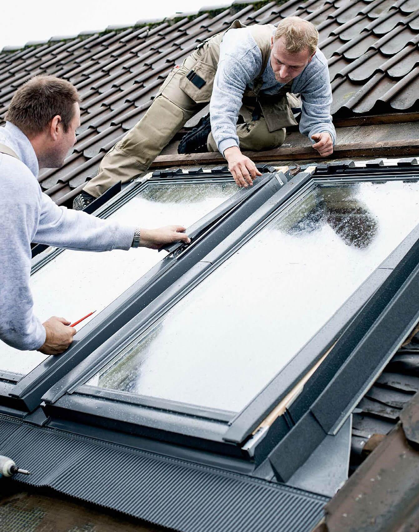 Montaż okna dachowego w istniejącym dachu cena