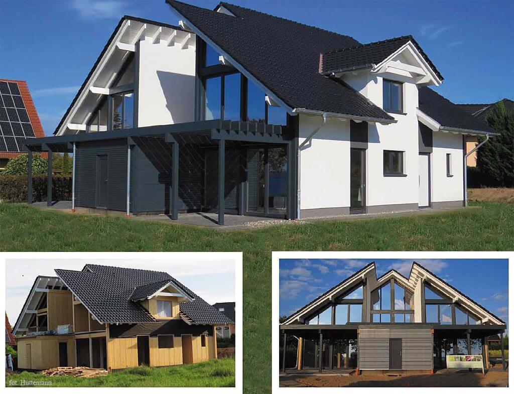 Fot. 6 Gotowy dom w technologii HBE.