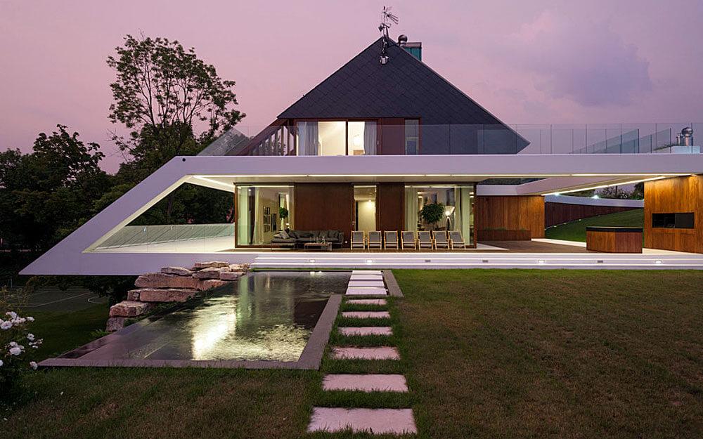 Edge house dom na kraw dzi dekarz i cie la for Edge house design