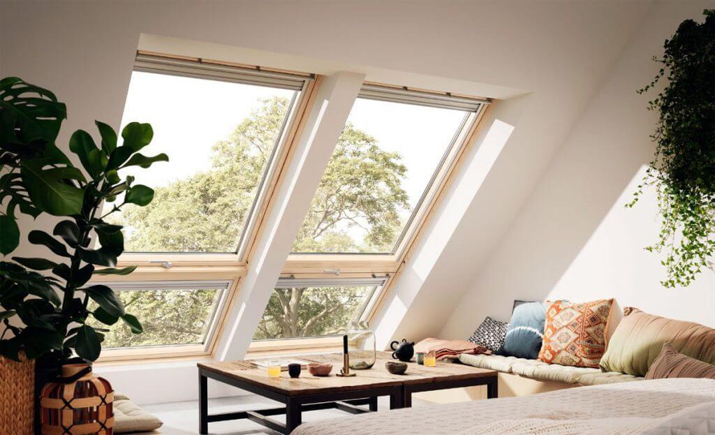 Nowe trendy w oknach dachowych