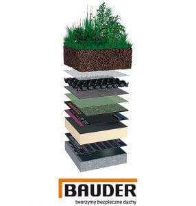 Systemy intensywnego zazieleniania dachów Bauder