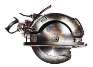 Fot. 2. Już w 1930 r. Festool – dawniej Festo – wprowadził na rynek swoją pierwszą ręczną pilarkę tarczową SB 126 dla cieśli.