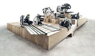 Fot. 3. Festool – marka dla profesjonalistów związanych z budownictwem drewnianym.