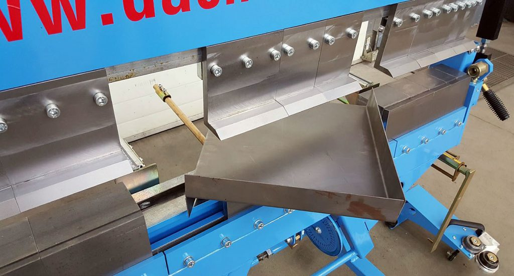 Fot. 1. Możliwość wygięcia pudełek w dowolnym rozmiarze o maksymalnej wysokości 90 mm.