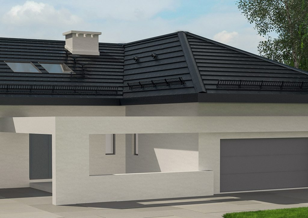 Dachówka płaska SIMPLA® w nowoczesnym budownictwie