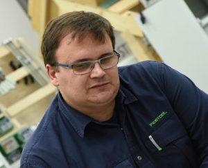 Doradca techniczny Festool Radosław Ostałowski