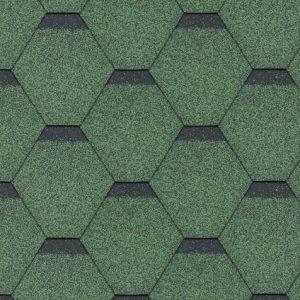 Hexagonal Rock zielony