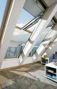 okna balkonoww Galeria Fakro