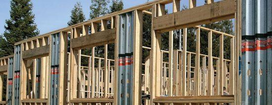Fot. 1. Konstrukcja szkieletowa usztywniona elementami Steel Strong-Wall™.