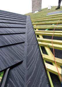 Fot. 3. Pokrycie Icopal Quadro można układać na dachach o pochyleniach połaci dachowych min. 15 st.