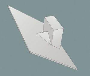 Rys. 2. Schemat wykonania kozuba zwanego też kozubkiem (Rozwiązania Techniczne. Dachy spadziste Braas. Monier Braas).