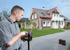 Szybko i bezpiecznie, czyli pomiar dachu w kwadrans