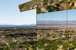 Lustrzany dom na pustyni