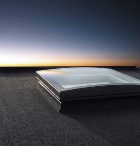 Sferyczny Moduł Szklany VELUX do płaskiego dachu