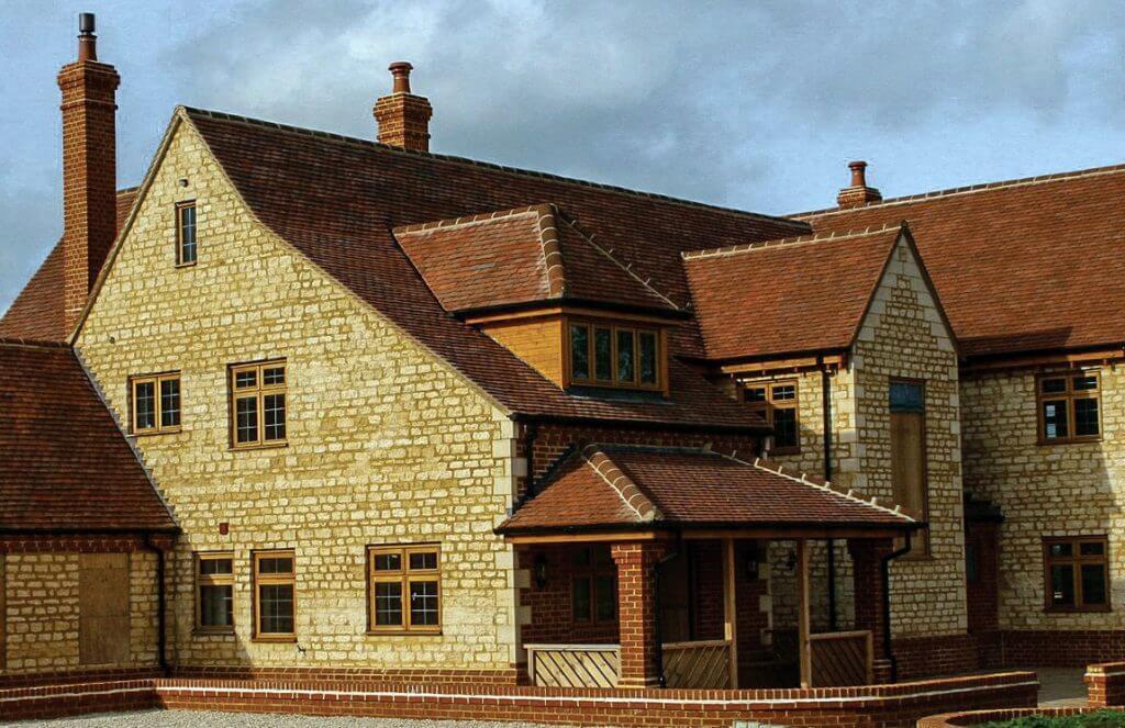 Inwestycja w Wielkiej Brytanii. Dachówka Heritage Medium.