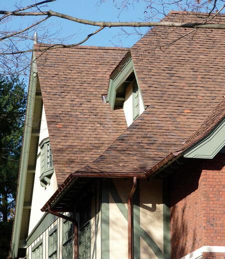 Inwestycja w USA. Dachówka w kolorze Heritage Brown.