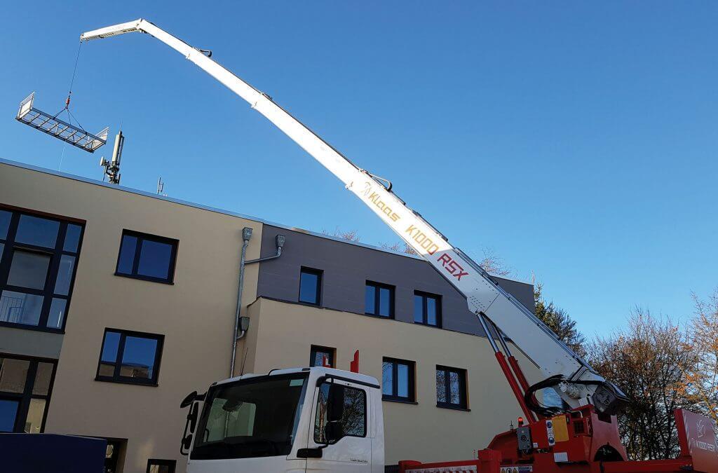 Nowe żurawie Klaas w ofercie firmy Lift Polska