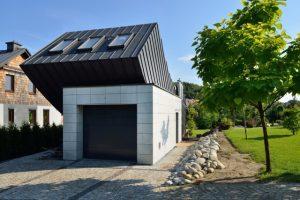 Jednoosobowy dom zaprojektowany przez biuro Architekt Lemański w Krakowie