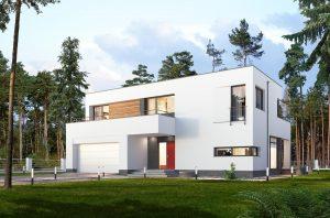 Projekt domu E-187 WAX1089