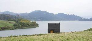 Nowoczesny dom letniskowy w Pieninach nad jeziorem Czorsztyńskim