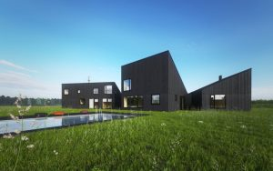 Projekt nowoczesnego domu, Ultra Architects