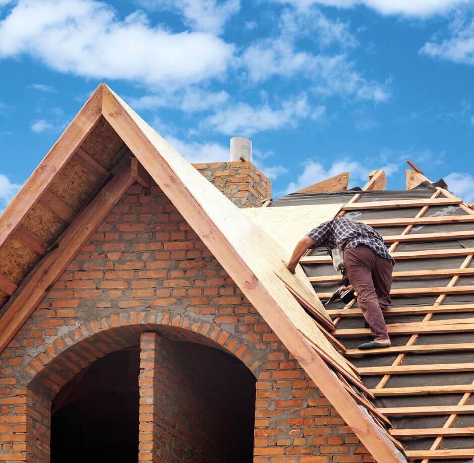 Renowacja i remont starego dachu - lekka dachówka