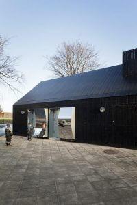 Fælledparken, Kopenhaga lustrzynay domek w centrum parku