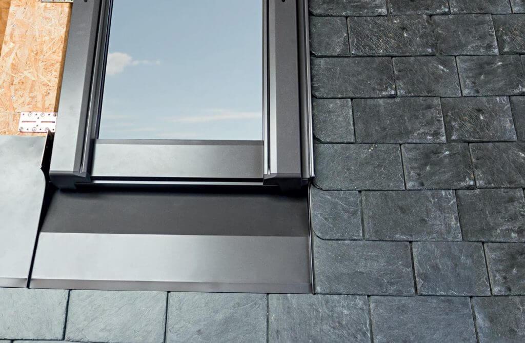 Obniżony montaż okna dachowego
