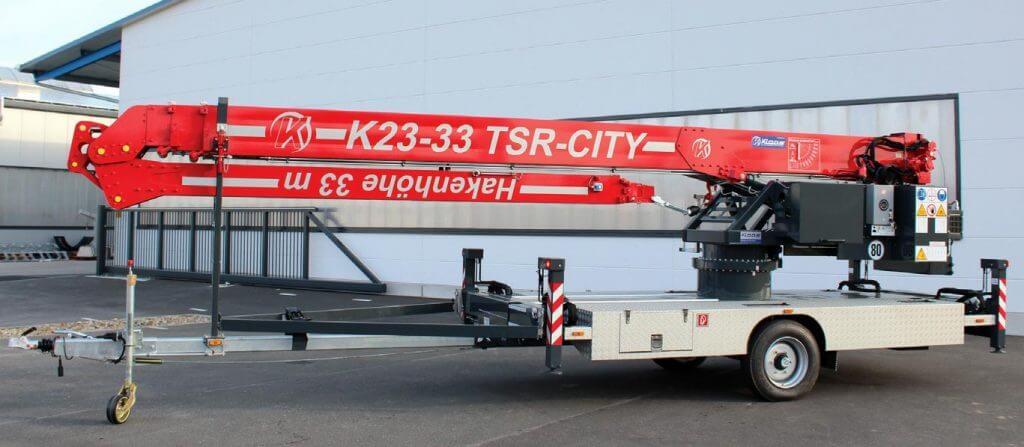 Dźwig K23-33 TRS City