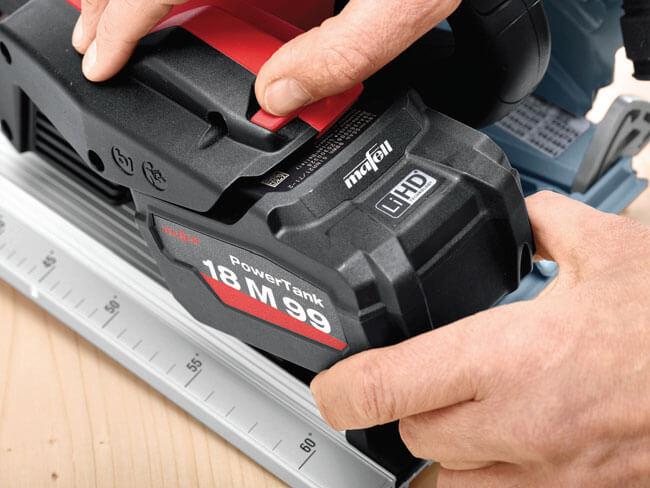 Zaawansowana technologia akumulatorów litowo-jonowych 18V