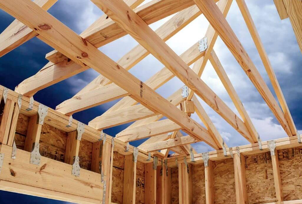 Zdj. 6. Połączenia zapewniające integralność pojedynczej kondygnacji. Drewniane budynki wielorodzinne.