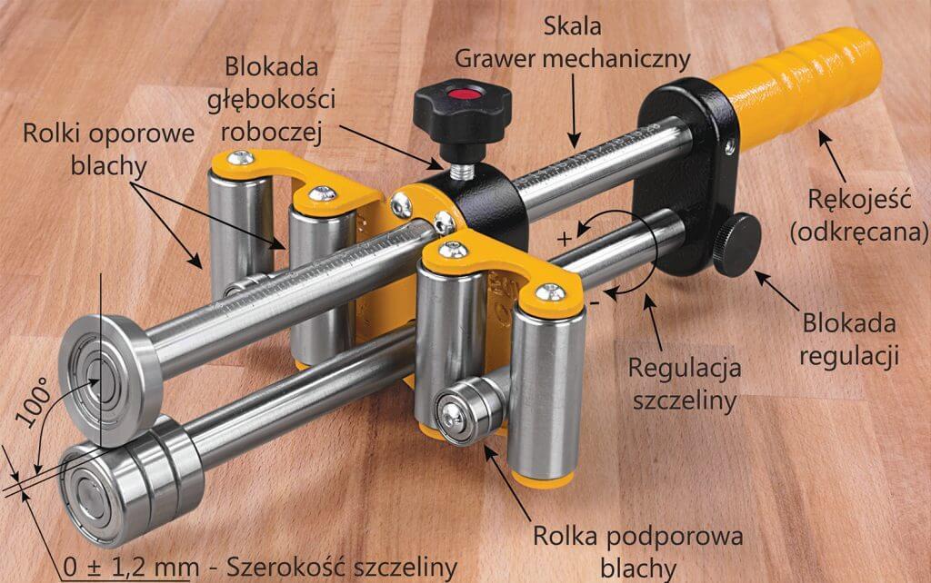 Fot. 2. Sorex Bender Uno 200 – budowa.