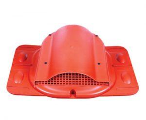Kominki wentylacyjne Toolco: wywietrznik połaciowy do pokryć blaszanych uniwersalny z gumą EPDM