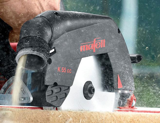 Optymalny wyrzutnik wiórów do cięcia drewna i materiałów z włóknem drzewnym.