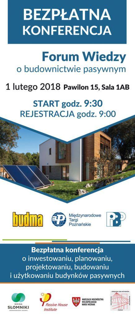 Forum Budownictwa Pasywnego i Efektywności Energetycznej