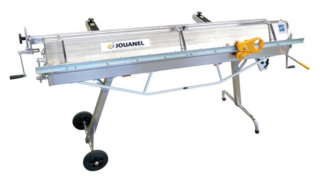 PCA2040 – nowość – 2-metrowa zaginarka aluminiowa – tylko 80 kg! JOUANEL Industrie