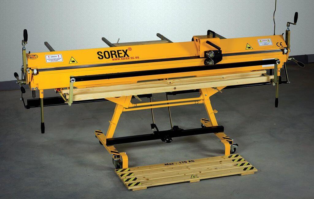 Fot. 1. Szablon kominowy SK-1300. Sorex Technic