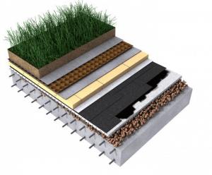 System dachu zielonego odwróconego od TECHNONICOL