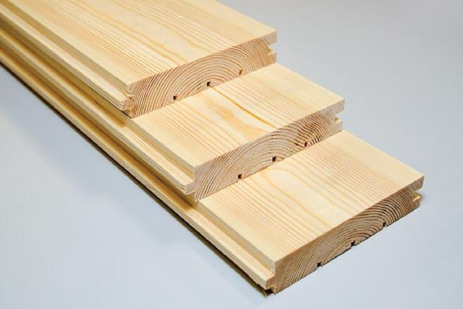 Zdj. 2. Deska podłogowa. Drewno profilowane DREW-BUD