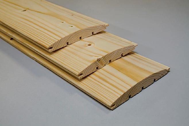 Zdj. 4. Deska elewacyjna. Drewno profilowane DREW-BUD