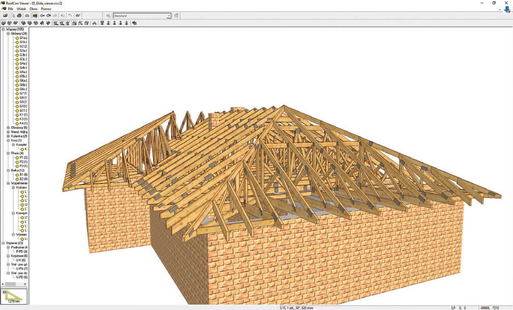 Więźba z prefabrykatów – korzystanie z prefabrykatów na budowie