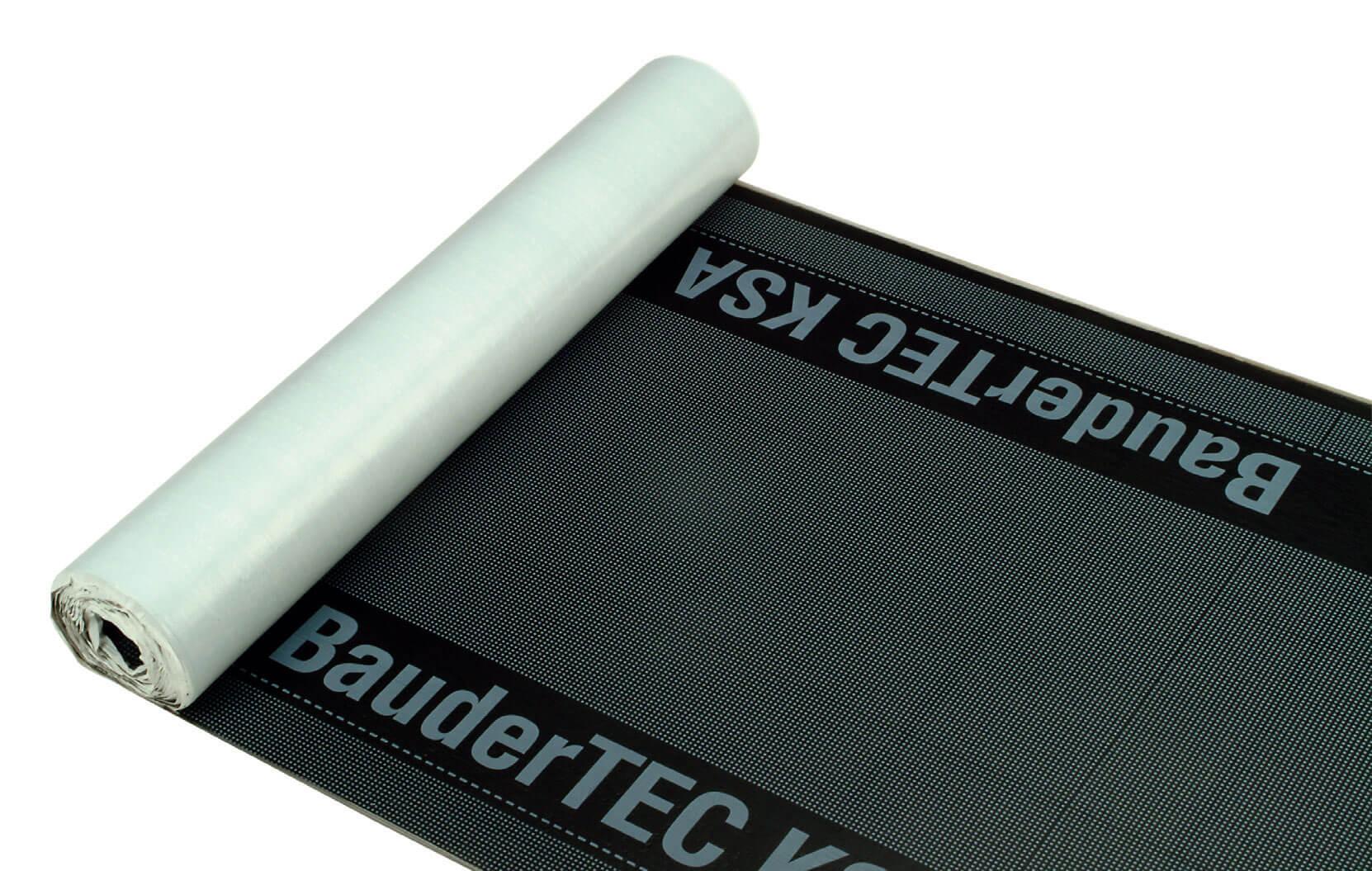 Samoprzylepny system – BauderTEC