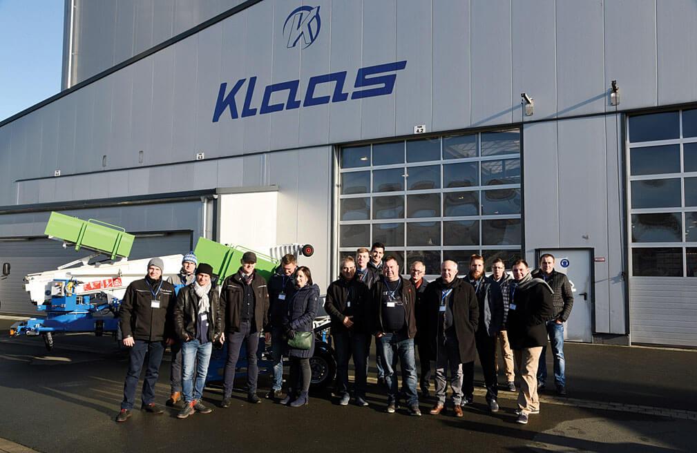 Z wizytą w firmie Klaas