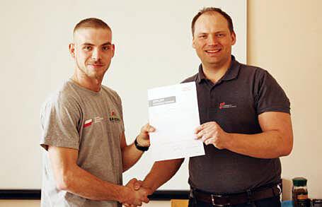 Mistrzowie wśród dekarzy wzięli udział w szkoleniu Braas - Kamil Gratkowski