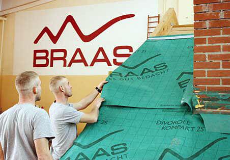 Mistrzowie wśród dekarzy wzięli udział w szkoleniu Braas
