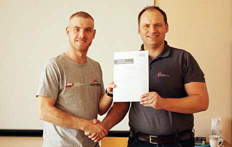 Mistrzowie wśród dekarzy wzięli udział w szkoleniu Braas - Marcin Gratkowski