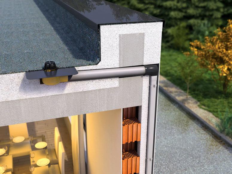 Odwadnianie dachów płaskich – innowacyjny system modułowy