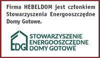 Firma HEBELDOM jest członkiem Stowarzyszenia Energooszczędne Domy Gotowe - dom szkieletowy