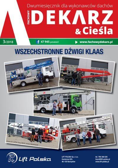 Fachowy Dekarz & Cieśla 3-2018