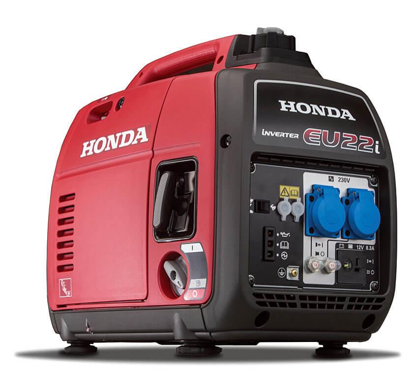 Nowe genaratory Honda EU22i – Nowy silnik, łatwiejsza eksploatacja